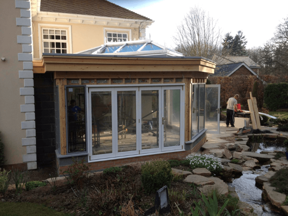 Orangery Extension Rcdbuild Builders Middlesbrough